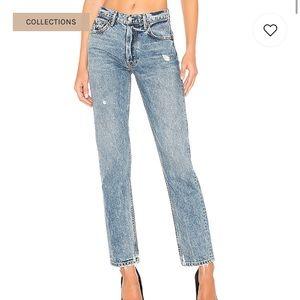 NEW GRLFRND Helena Straight Jean in No Limit